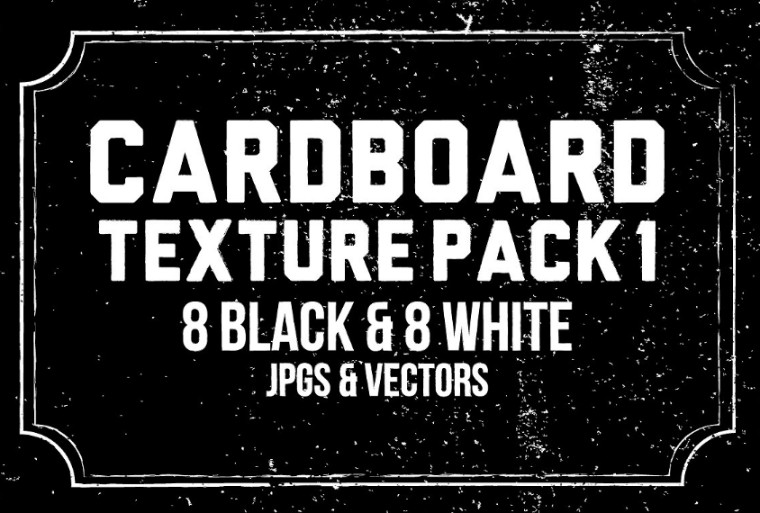 Cardboard Texture Pack