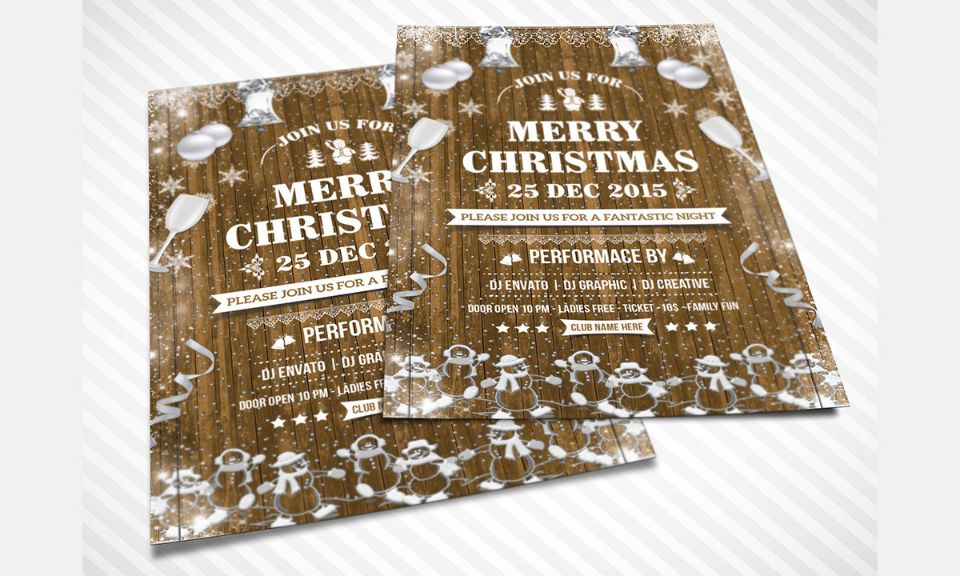 Christian Party Flyer Template PSD