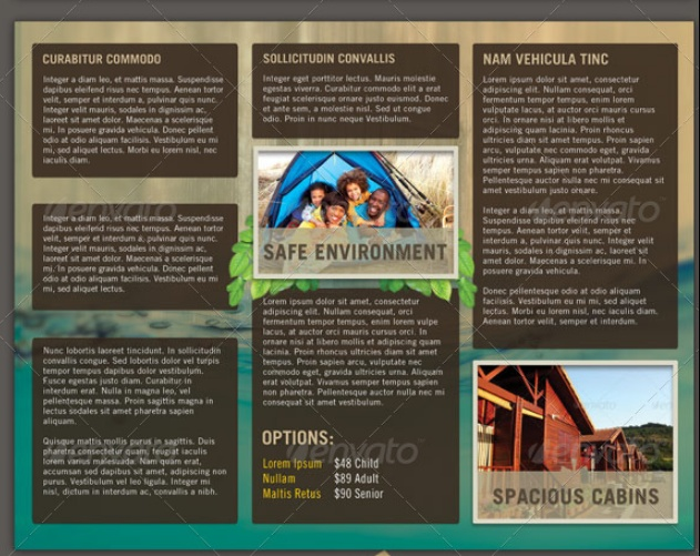 Church Summer Camp Flyer Template