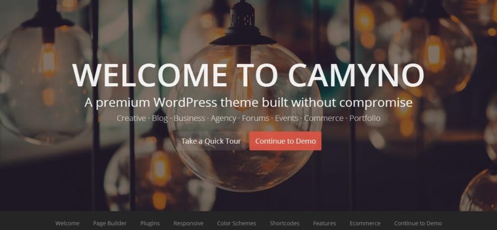 Clean Landing Page WordPress Theme