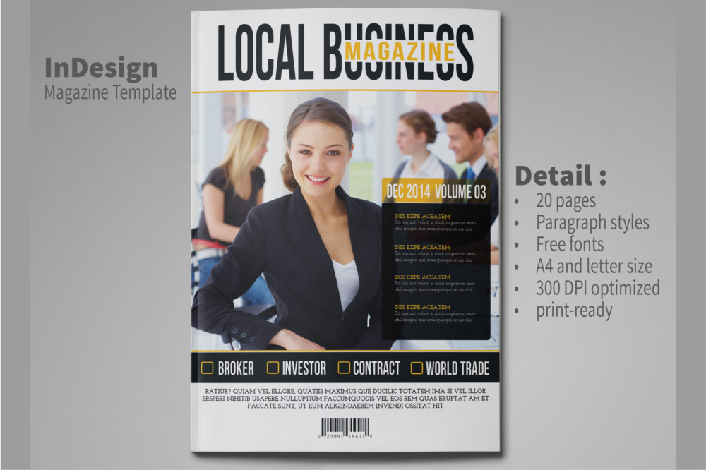 15+ Magazine Template Word Format for Business, Corporate and ...
