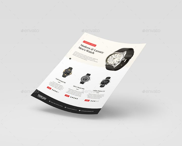 Clean Product Promotional Flyer Template