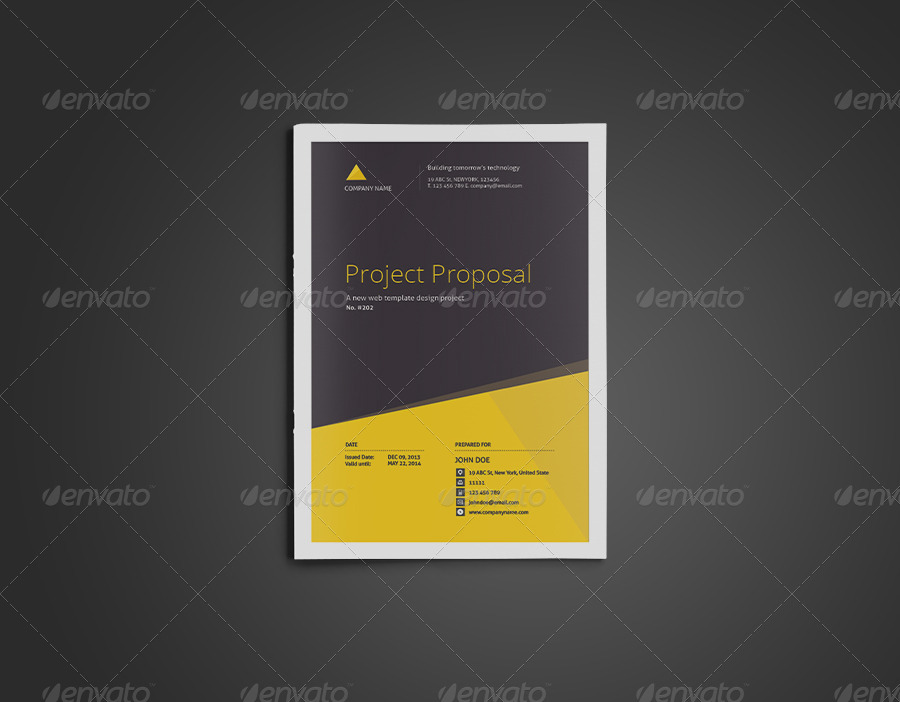 Clean Real Estate Proposal Template