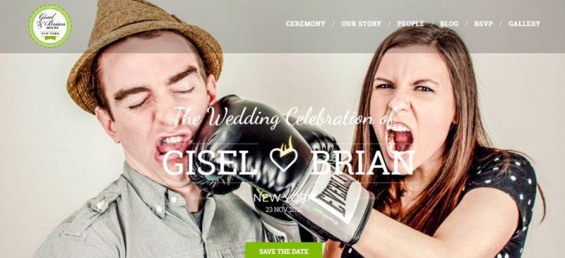 Clean Wedding WordPress Theme