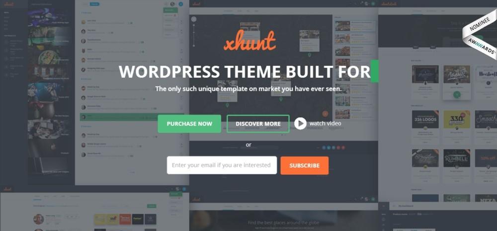 Clean WordPress Directory Theme