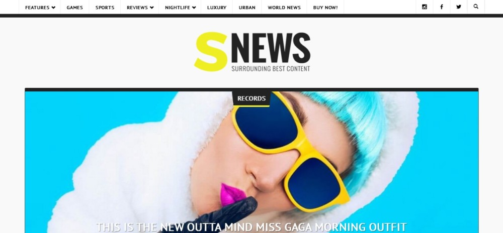 Clean WordPress Newspaper Theme