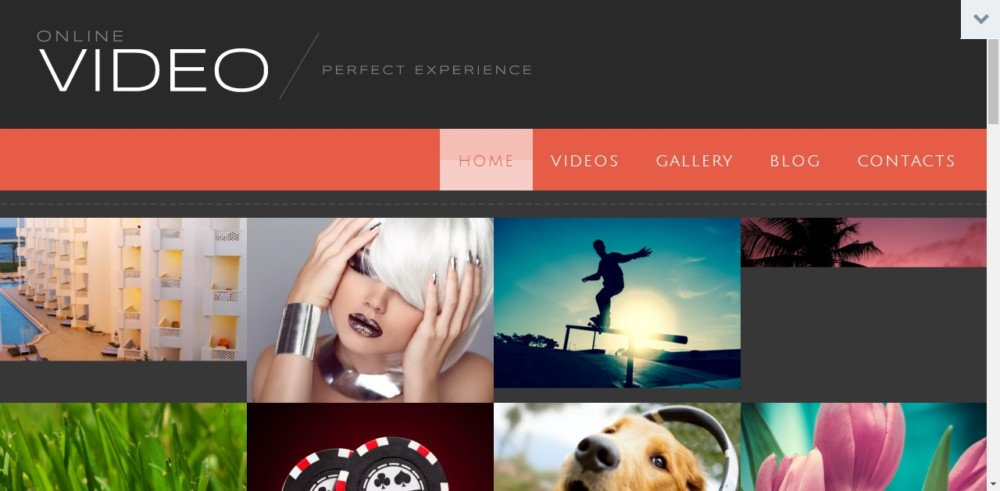 Clean WordPress Video Theme