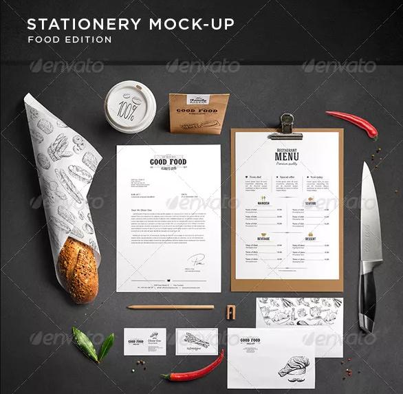 Coffee Branding Stationary Mockup