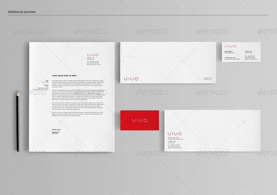 Corporate Branding Mockup PSD