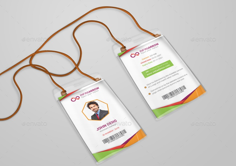 Creattive ID Card Template