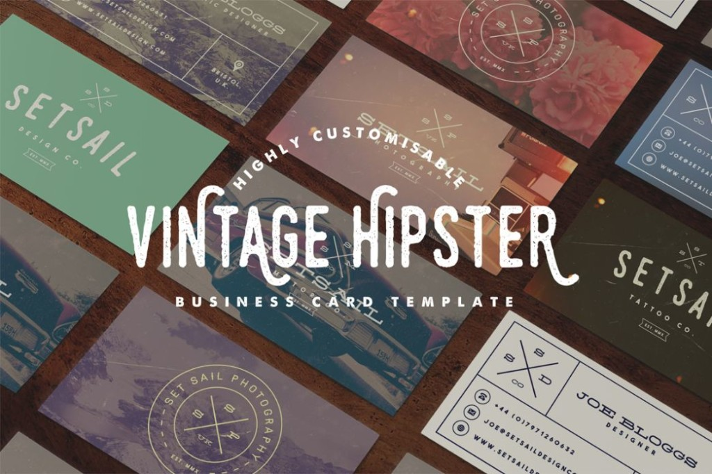 Customizable Business Card Template