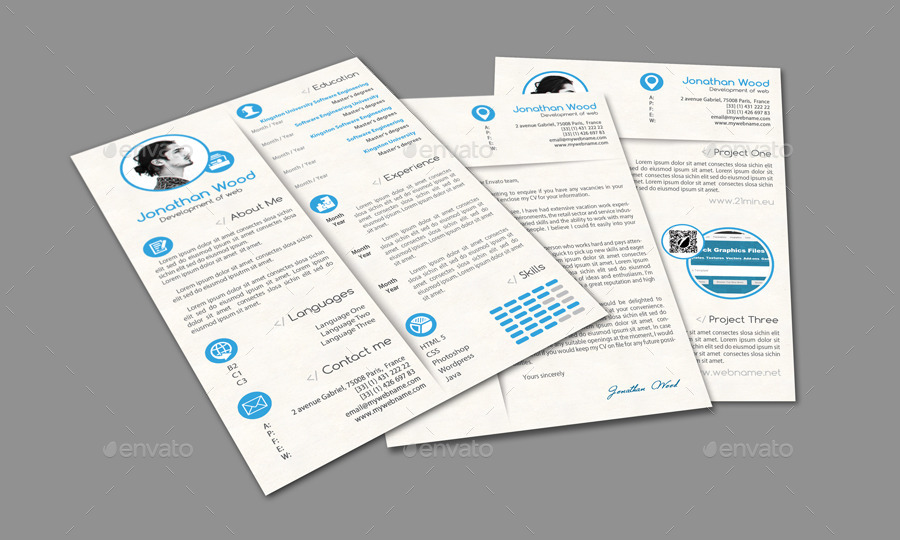 Customizable Resume and Cover Letter Template