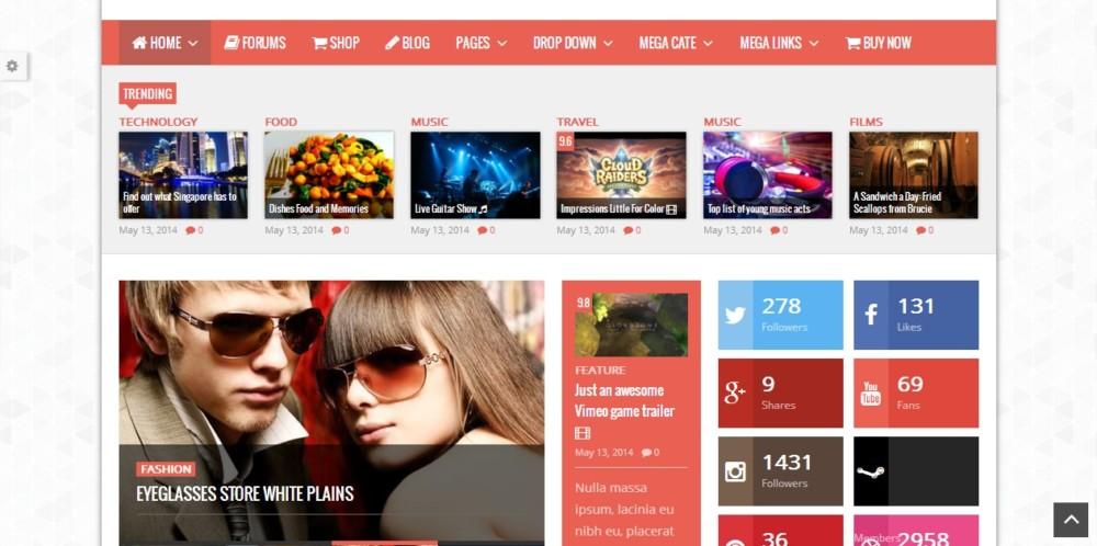 Customizable WordPress Review Theme
