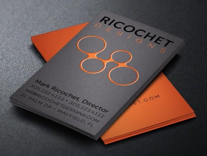 Designer Business Card Mockup