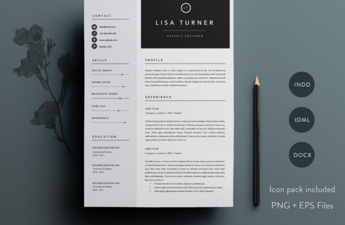 15+ Designer Resume Template Word, Psd, Indesign And Ai Format