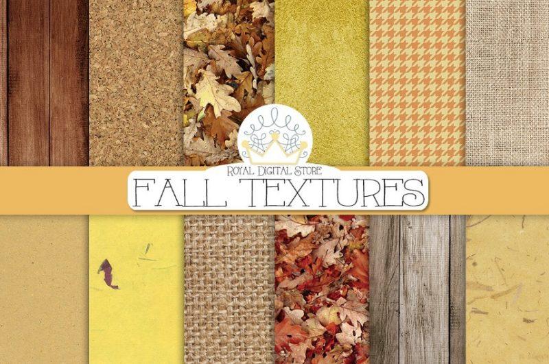 Digital Fall Texture