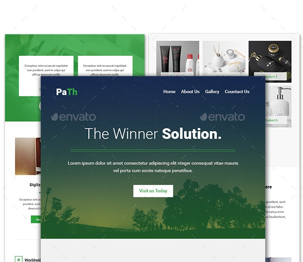 E Commerce Email Template