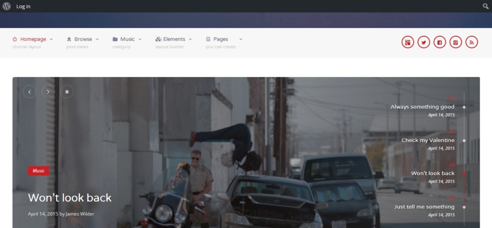 Easy Customizable WordPress Video Theme