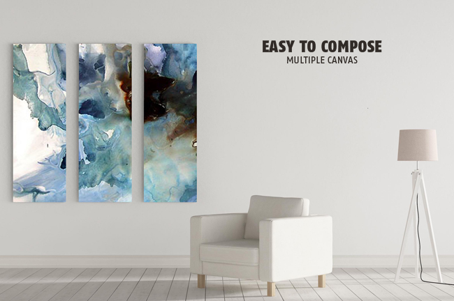 Easy Editable Wall Art Mockup