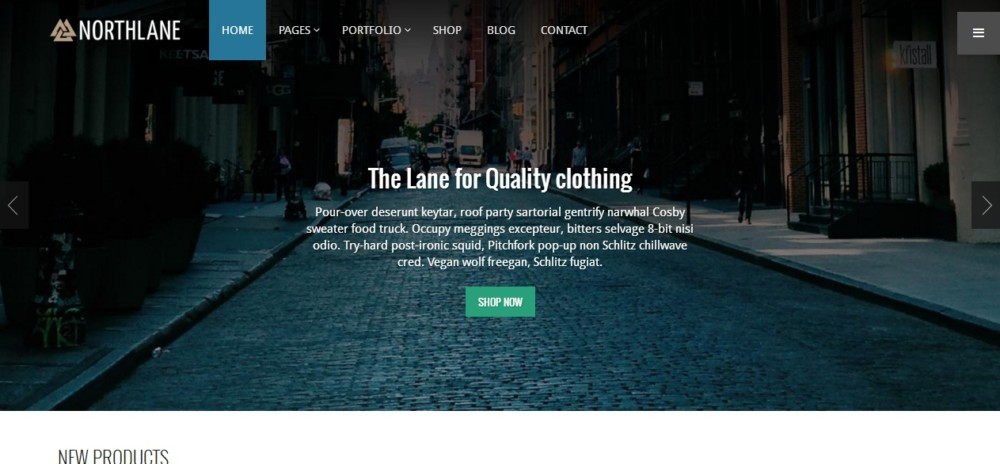 Easy Editable WordPress eCommerce Theme