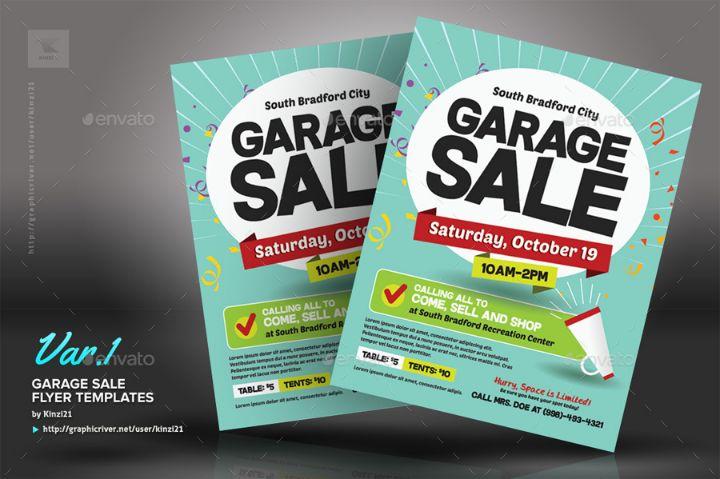 Editable Sales Flyer Template