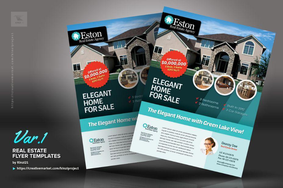 Elegant Home Sale Flyer Template