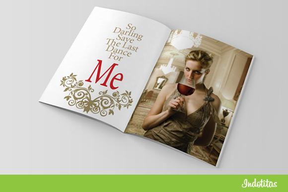 Elegant Magazine Template DOC Format