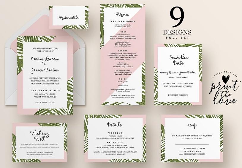 Elegant Wedding Suite Template