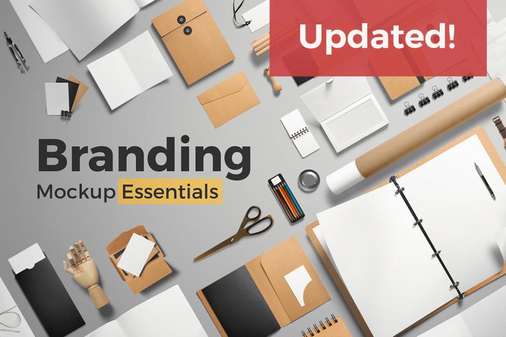 Essential Branding Mockup PSD Designs