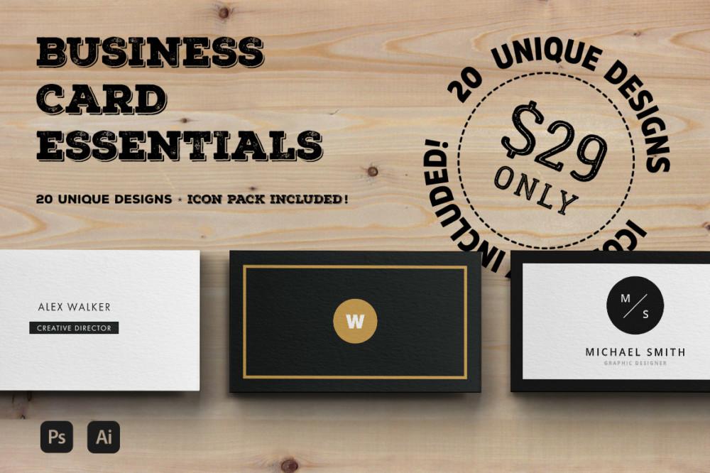 Essential Business Card Template Bundle