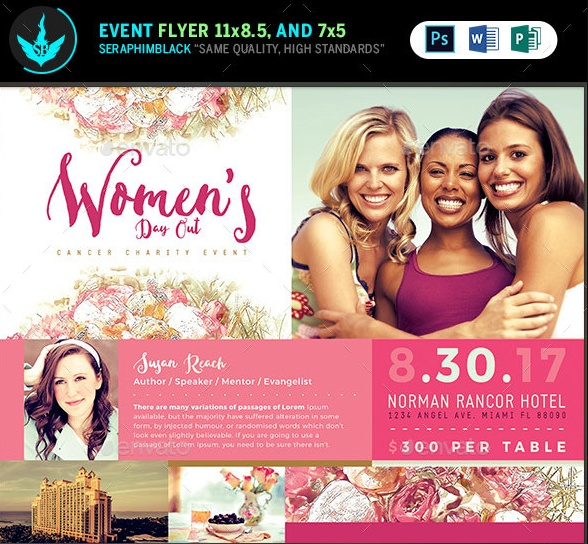 Event Flyer Template PSD Word