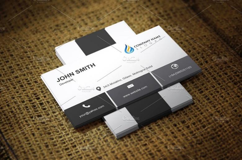 Executive Business Card Template