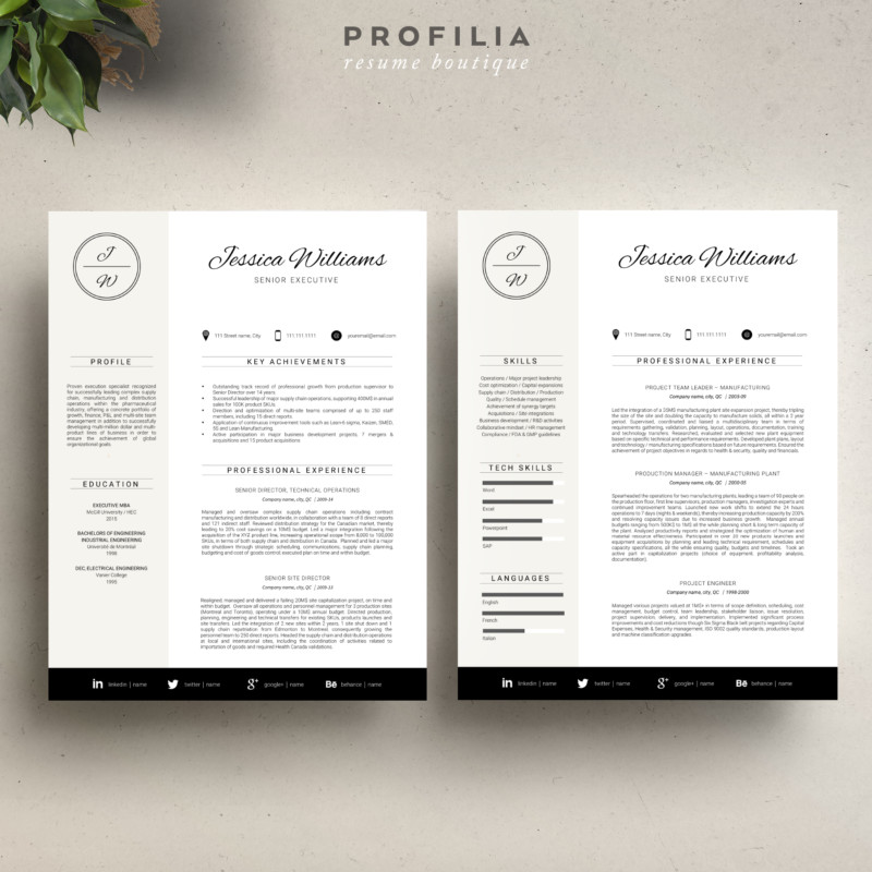 Eyecatching Cover Letter Word Template