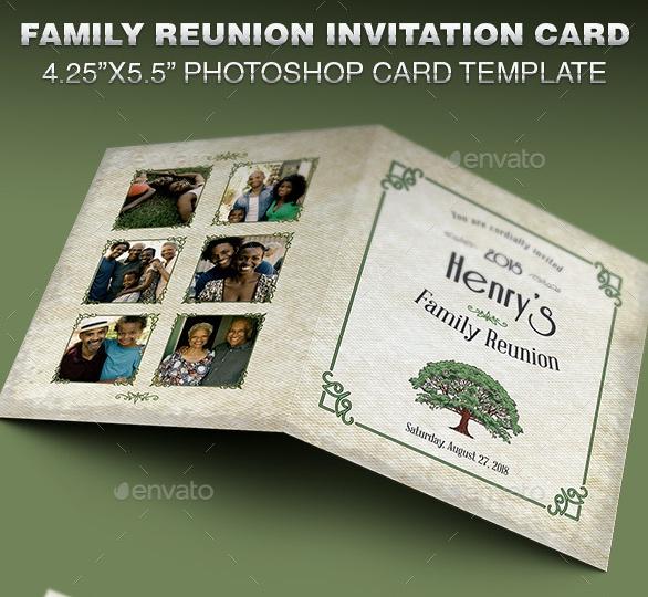 Family Reunion Invite Template