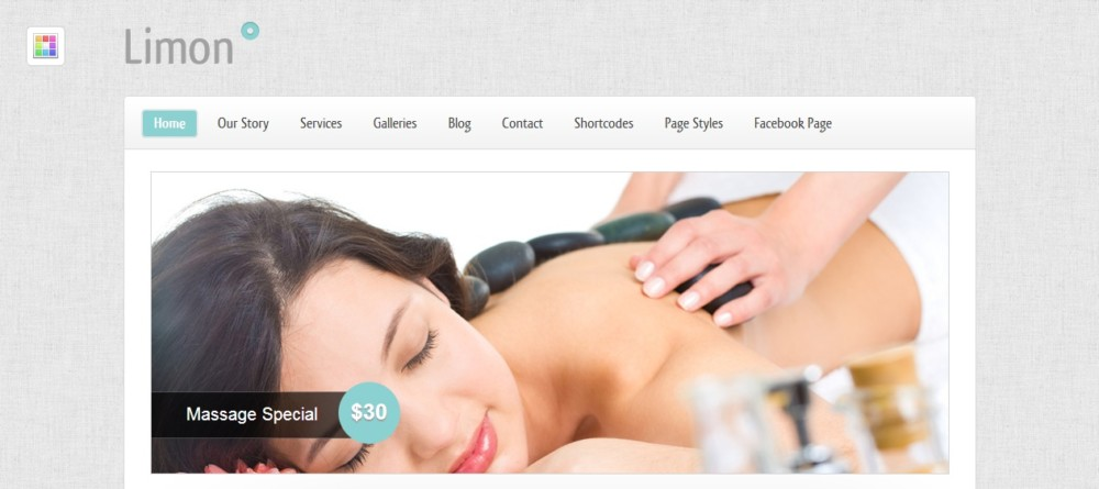 Fully Customizable WordPress Spa Theme