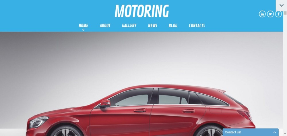 Fully Editable automotive WordPress Theme