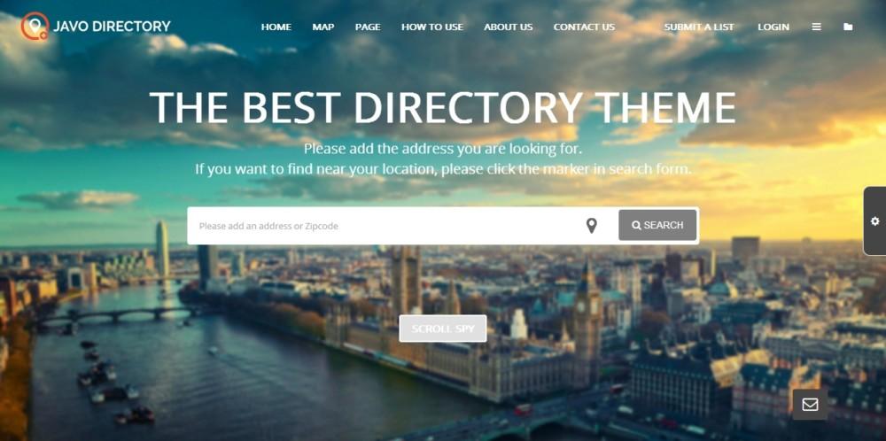 Fully Responsive WordPress Directory Theme