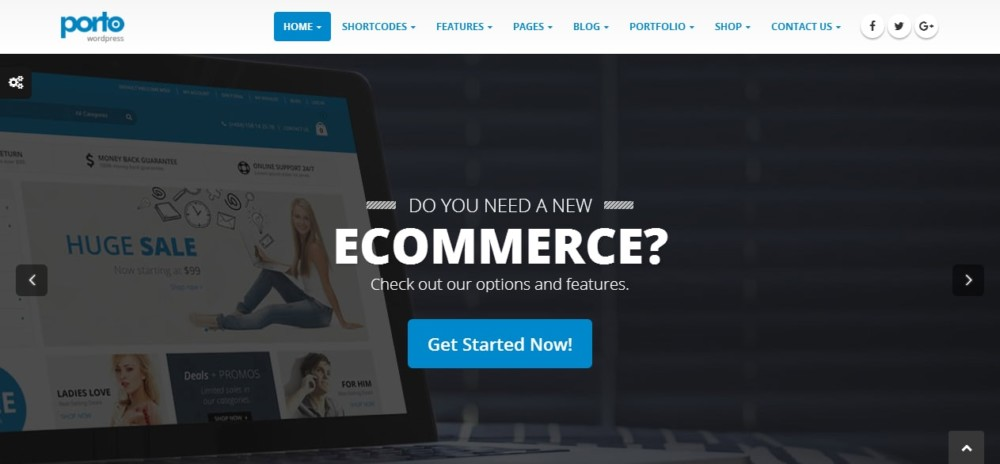 Fully Responsive WordPress eCommerce Theme