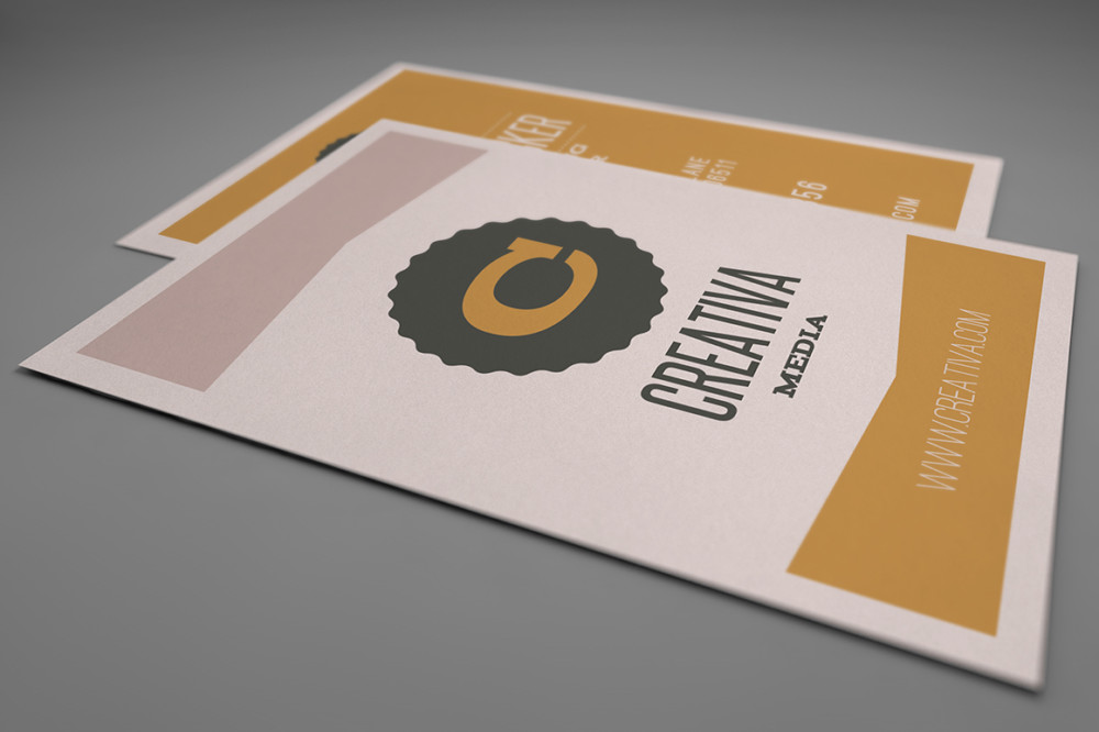 Fully layered Business Card Template