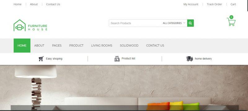 Furniture Ecommerce WordPress Theme