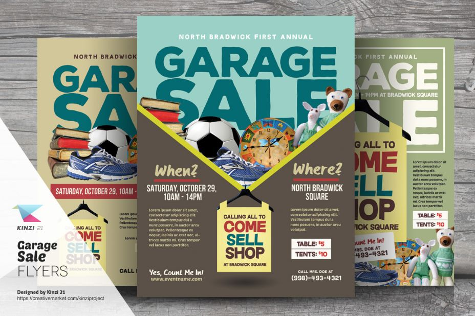 Graphical Sale Flyer