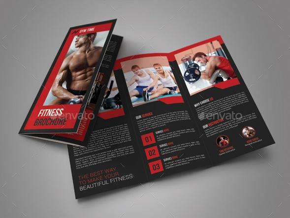 Gym Brochure Template