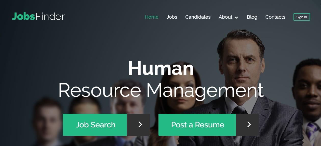 HR Management WordPress Theme
