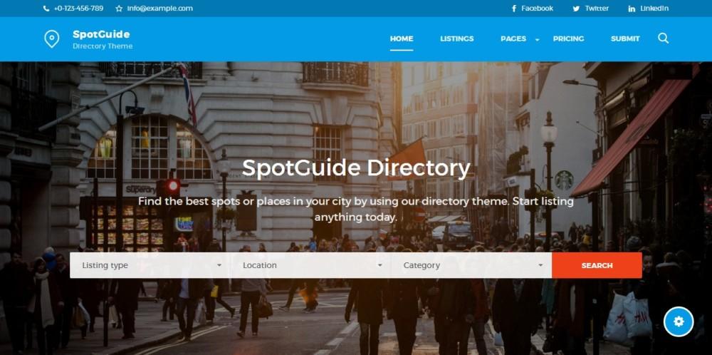 High Performance WordPress Directory Theme