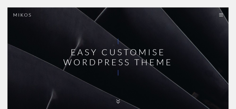 High Resolution One Page WordPress Theme
