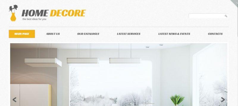Home Decor WordPress Theme (1)
