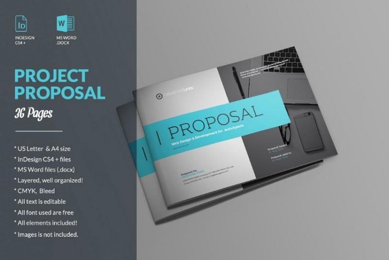InDesign Project Proposal Template