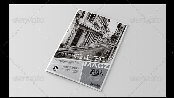 InDesign and Word Magazine Template