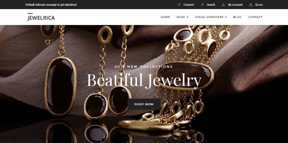 Jewelry WordPress eCommerce Theme