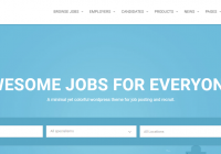 Job Portal Wordpress Theme
